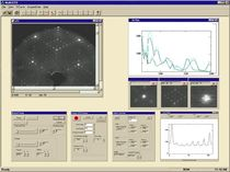 image analysis software for LEED spectrometry Model LIM08  OCI Vacuum Microengineering
