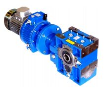 in-line electric gearmotor with planetary reduction stage MKF - MOT Siti