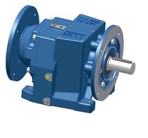in-line helical gear reducer max. 210 kW, max. 12 000 Nm | NHL series Siti