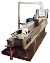 in-line solvent cleaning machine (spray)   Magnus Equipment / Power Sonics