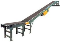 inclined belt conveyor  Almac Industrial Systems