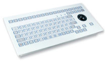 industrial keyboard with trackball 0.3 mm, 2.6 N, IP65 | KS15014 INDUKEY