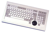 industrial keyboard with trackball KFM-101CT Devlin