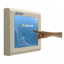 "industrial LCD touch screen monitor 17"", IP54, NEMA4 