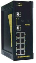 industrial managed Ethernet switch 10 port, 10/100BaseTX | RS900G RuggedCom