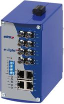 industrial managed Ethernet to fiber optic converter switch  eks Engel GmbH & Co. KG