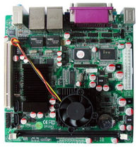 industrial mini-ITX motherboard Intel Atom Processor D525 | M52X42A Industrial PC