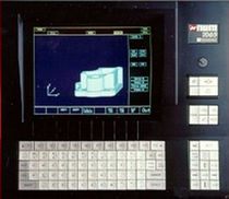 industrial panel PC with keyboard CP Series NUM