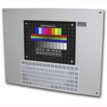 "industrial panel PC with keyboard 10.4"", intel celeron, 80GB HDD ADM electronic GmbH"