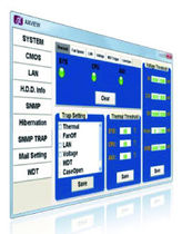industrial PC monitoring software AXVIEW AXIOMTEK