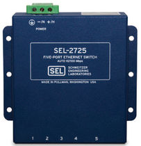 industrial unmanaged Ethernet switch SEL-2725 Schweitzer Engineering Laboratories