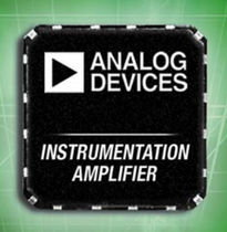 instrumentation amplifier integrated circuit AD8xxx series    Analog Devices
