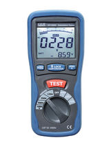 insulation tester 4 - 4000 MΩ | DT-5505 CEM Instruments, Inc