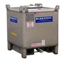 intermediate bulk container (IBC) max. 3000 l | Liquitote® Hoover Materials Handling Group