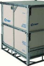 intermediate bulk container (IBC) for foodstuffs 1 168 x 1 168x 1 220 mm, max. 1 200 kg | CHEPBox CHEP INTERNATIONAL