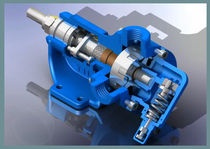 "internal gear pump 3 m³/h, 10 bar | YK - 1"" series Yildiz Pompa ve Mak. San. Tic. Ltd. Sti."