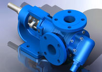 "internal gear pump 5.7 m³/h, 10 bar | YKF - 1½"" series Yildiz Pompa ve Mak. San. Tic. Ltd. Sti."