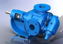 "internal gear pump 27 m³/h, 10 bar | YKUF - 2½"" series Yildiz Pompa ve Mak. San. Tic. Ltd. Sti."