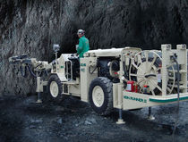 jumbo drilling rig 5.1 - 5.5 m |  Vein Runner II Mining technologies International Inc
