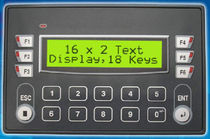 keypad operator terminal with text display 16 x 2 car, IP65 | FP4020  Renu Electronics Pvt. Ltd.