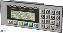 keypad operator terminal with text display 10 - 32 VDC | AT11 GRAF-SYTECO