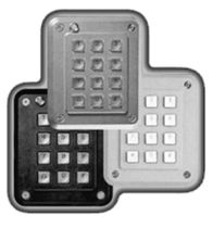 keypad for access control IP65 | StrikeMaster Storm Keymat Technology