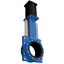"knife gate valve for slurry 18 - 54"" , max. 100 psi 