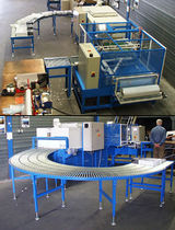 L-sealing packaging machine with shrink tunnel AW-58, VT-28 Zappe