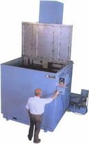 large capacity agitation parts solvent cleaning machine (immersion)   Magnus Equipment / Power Sonics