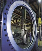 "large knife gate valve max. 144"" ITT Engineered Valves"
