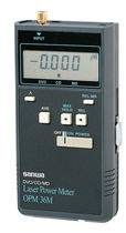 laser power meter for DVD-RAM, CD, MD max. 50 mW, max. 780 nm | OPM-36M Sanwa Electric Instrument