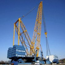 lattice-boom crane max. 3 200 t, 88.7 - 130 m | SGC-120 Sarens Group