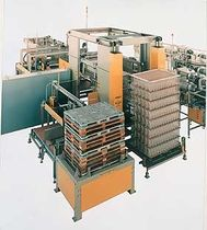 layer palletizer  Ouellette Machinery Systems