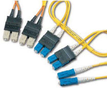 LC fiber optic duplex adapter cable -3 to -20 dB Winchester Electronics