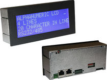 LCD-display 4 x 20 char | BID420 Instrumeter