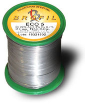 lead-free soldering wire ECO 5 Sn99Ag0.3Cu0.7 Broquetas