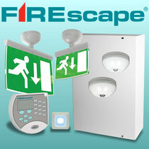 LED emergency lighting FIREscape Hochiki Europe