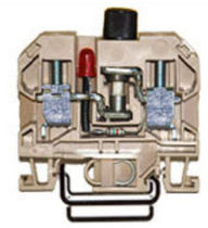 LED fuse terminal block 12.5 A, 10 mm² | USC 10 FT/ 20 LED ELETTROMECCANICA A. COLOMBO