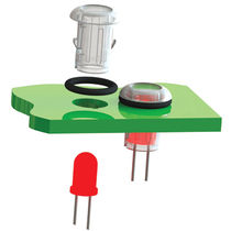 LED lens holder LEDC Richco Europe