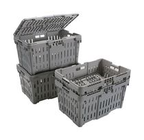 lidded crate  Rehrig Pacific Company