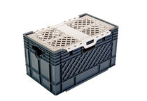 lidded crate 5 gal (20l) Rehrig Pacific Company