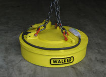 lifting magnet for excavators and material handlers 0 - 1 150 lbs | LM Fabricated  series WALKER MAGNETICS