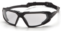 light-weight wrap-around protective goggles CE EN166 | Highlander SBB series Pyramex