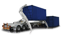 lightweight self loading container trailer (sidelifter) 36 t | SB362 Lightweight Steelbro