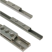 linear guide rail max. 14040 N, max. 5.5 m/s | UtiliTrak® Series BISHOP WISECARVER