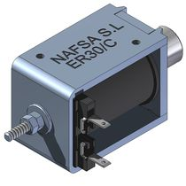 linear solenoid 5 - 20 mm, max. 382 N | ER series NAFSA