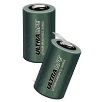 lithium manganese dioxide cylindrical battery cell 3.3 V, 11.1 Ah | UHR-CR34610 Ultralife