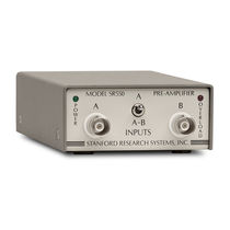 lock-in voltage amplifier max. 7 V pp | SR550  Stanford Research Systems