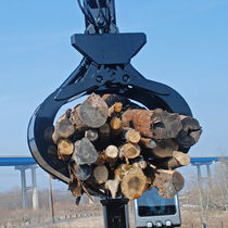 log loader grapple Pulpwood Grapple North Shore Manufacturing