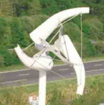 low power wind turbine AECWIND 3D 100 Allis Electric